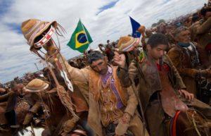 Vaqueiros na 48º Missa do Vaqueiro de Serrita. Foto: Divulgação
